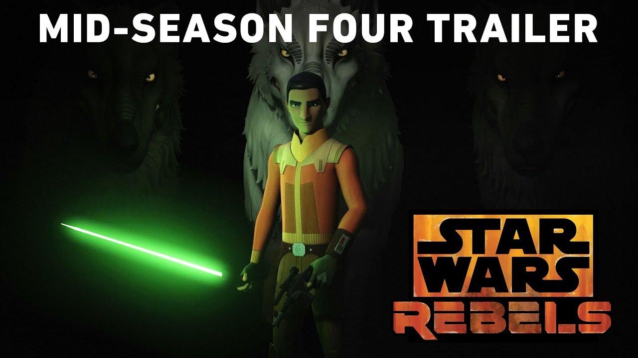 Star Wars Rebels Mid-Season Four Trailer