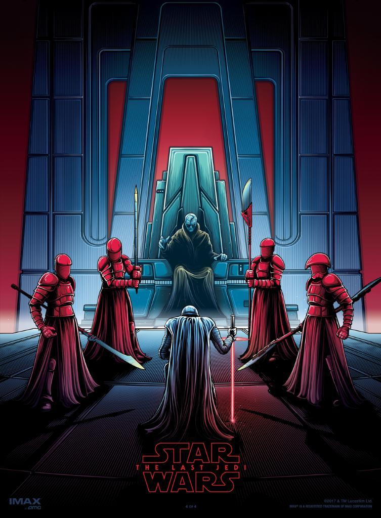Final Star Wars: The Last Jedi IMAX Poster