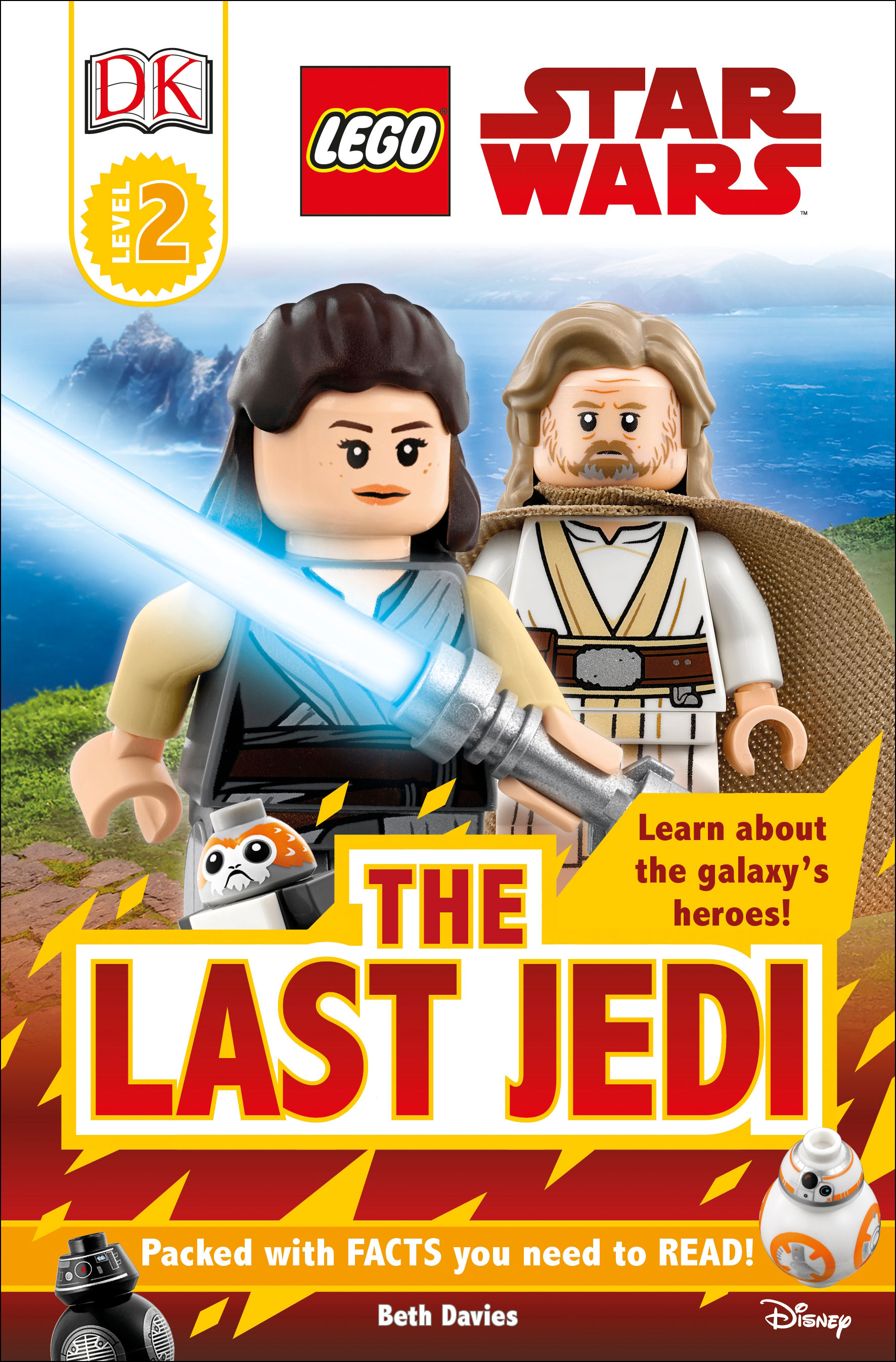 DK Readers L2: LEGO Star Wars: The Last Jedi