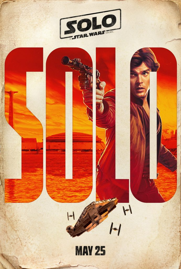 Han Solo Character Poster