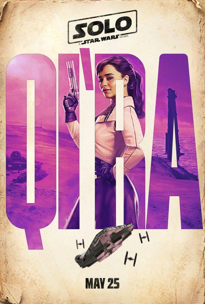 Qi'Ra Poster