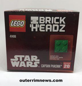 LEGO Brickheadz Captain Phasma 005