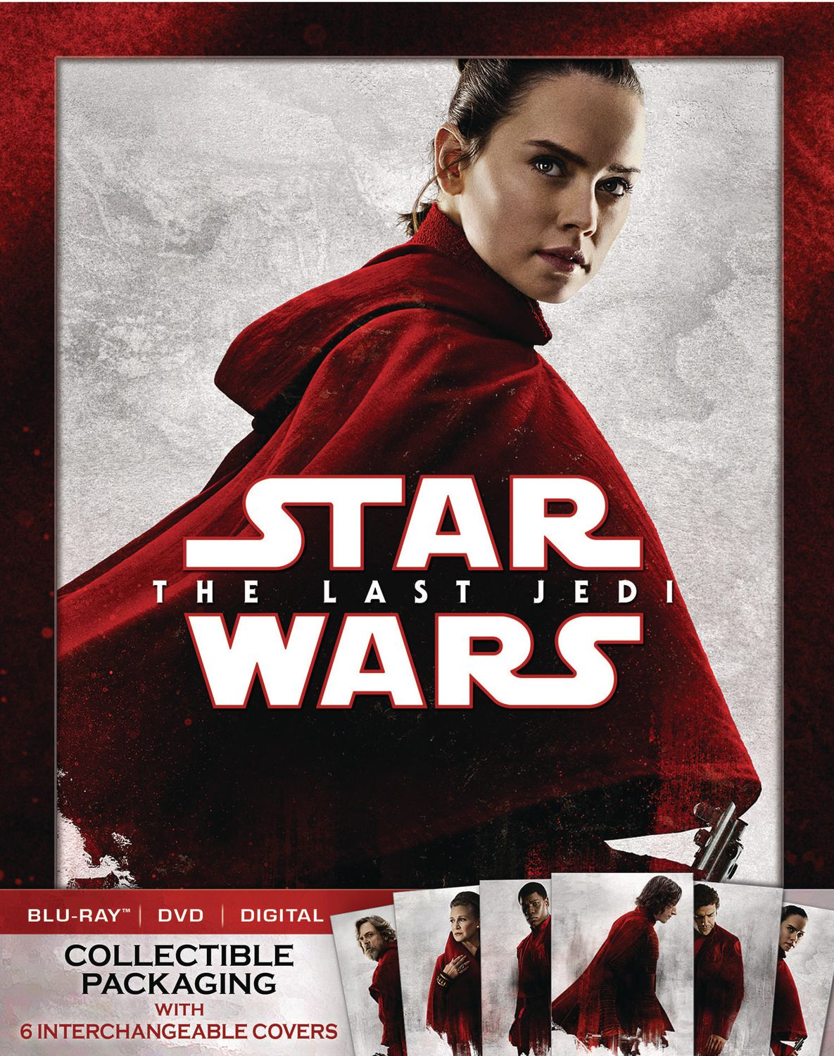 Walmart Exclusive Star Wars: The Last Jedi Blu-ray Cover
