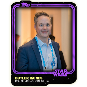 Butler Raines - Outer Rim News Co-Founder/Social Media