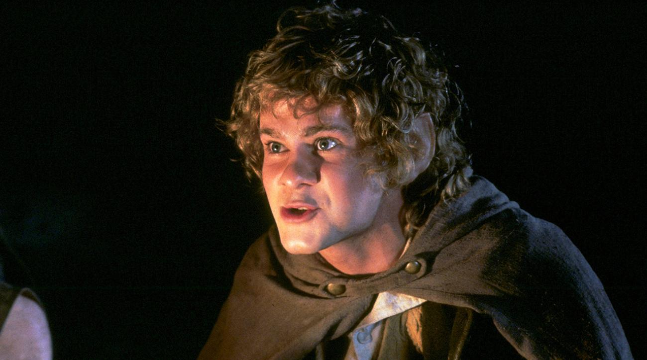 Dominic Monaghan in The Lord of the Rings