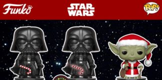 Pop! Star Wars Holiday vinyl figures