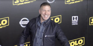 Ray Park at the Solo: A Star Wars Story Premiere