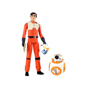 STAR WARS: RESISTANCE 3.75-INCH POE DAMERON & BB-8 Figure 2-Pack