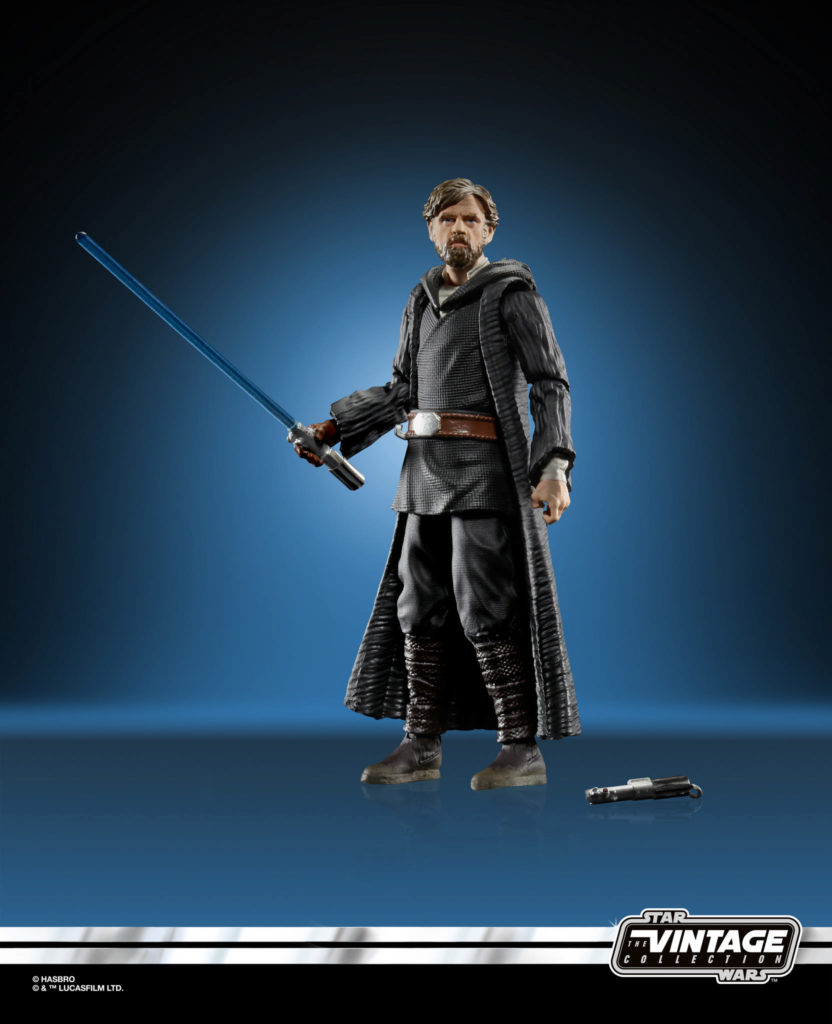 Star Wars: The Vintage Collection Luke Skywalker (Crait) Figure
