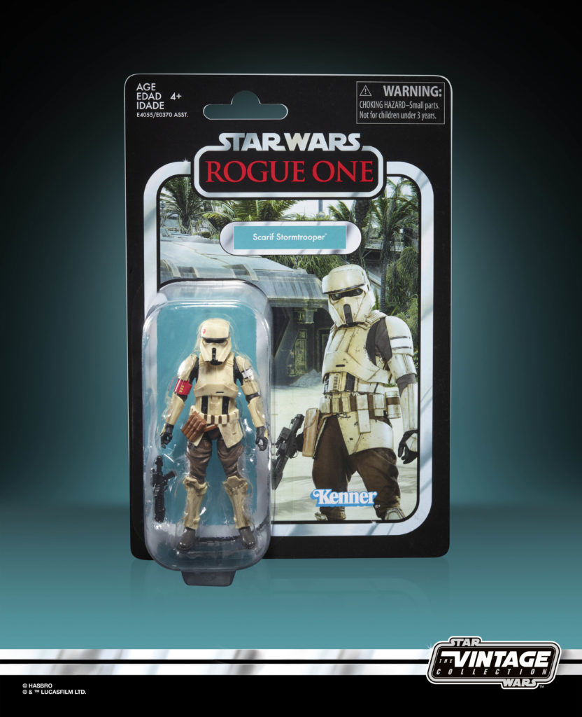 Star Wars: The Vintage Collection Scarif Trooper Figure