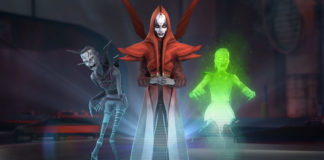 Nightsister characters from Star Wars: Galaxy of Heroes