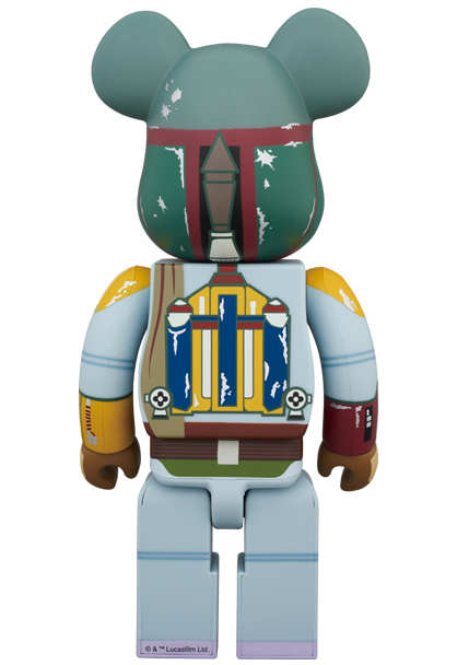 First Appearance Boba Fett 400% Be@rbrick