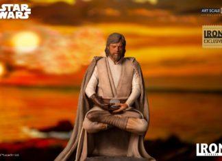 Star Wars: The Last Jedi – Luke Skywalker – Deluxe 1/10 Art Scale Statue