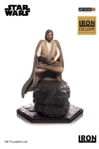 Star Wars: The Last Jedi – Luke Skywalker – Deluxe 1/10 Art Scale Statue