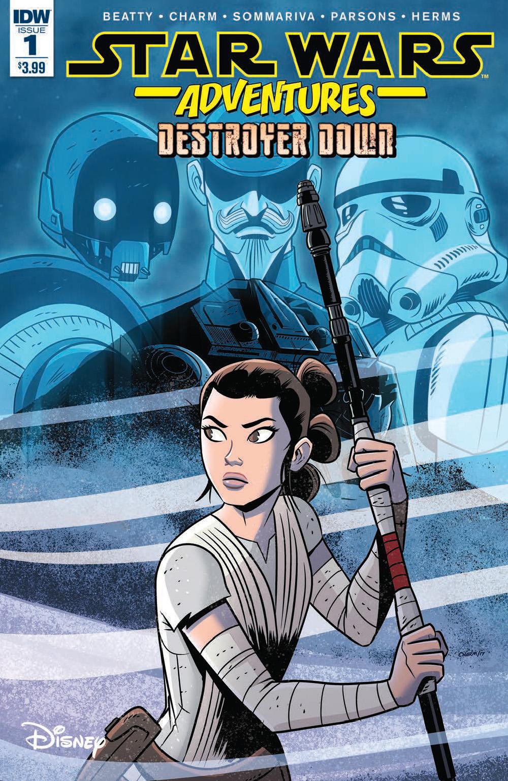 Star Wars Adventures: Destroyer Down 1 Cover