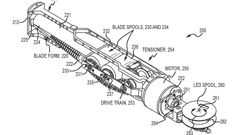 Disney's New Lightsaber Patent