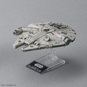 Bandai Blockade Runner & Millennium Falcon Model Kit SetBandai Blockade Runner & Millennium Falcon Model Kit Set
