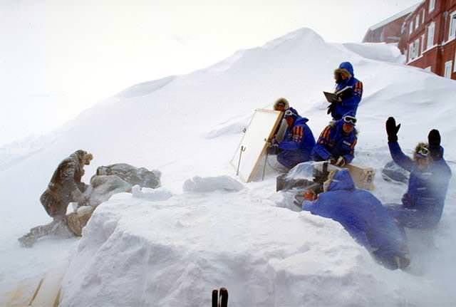 Filming of Star Wars: The Empire Strikes Back
