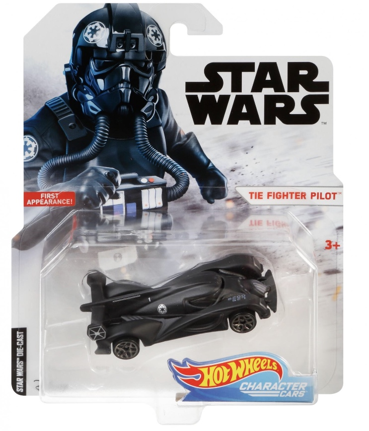 Hot Wheels Tie-Fighter Pilot