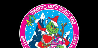 R2-KT Grinch Patch