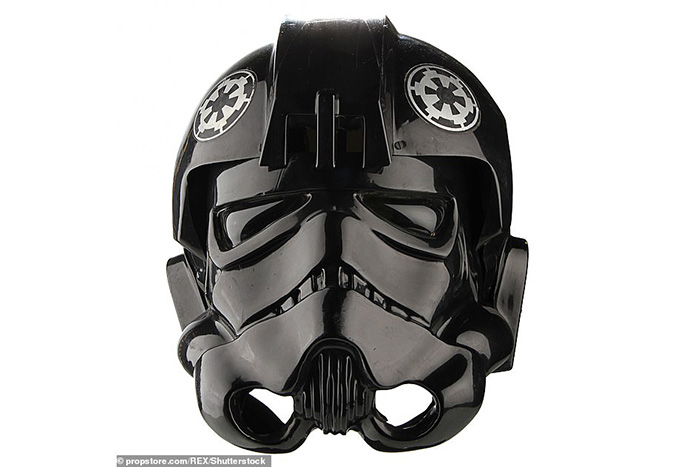 Screen Used TIE Helmet from A New Hope