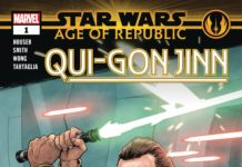 Star Wars: Age of Republic - Qui-Gon Jinn 1 Preview Cover