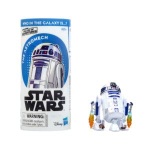 STAR WARS GALAXY OF ADVENTURES R2-D2 Figure and Mini Comic