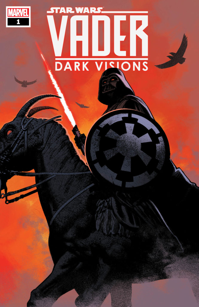 STAR WARS: VADER – DARK VISIONS #1 Cover