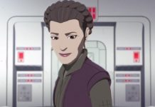 Star Wars Resistance General Leia