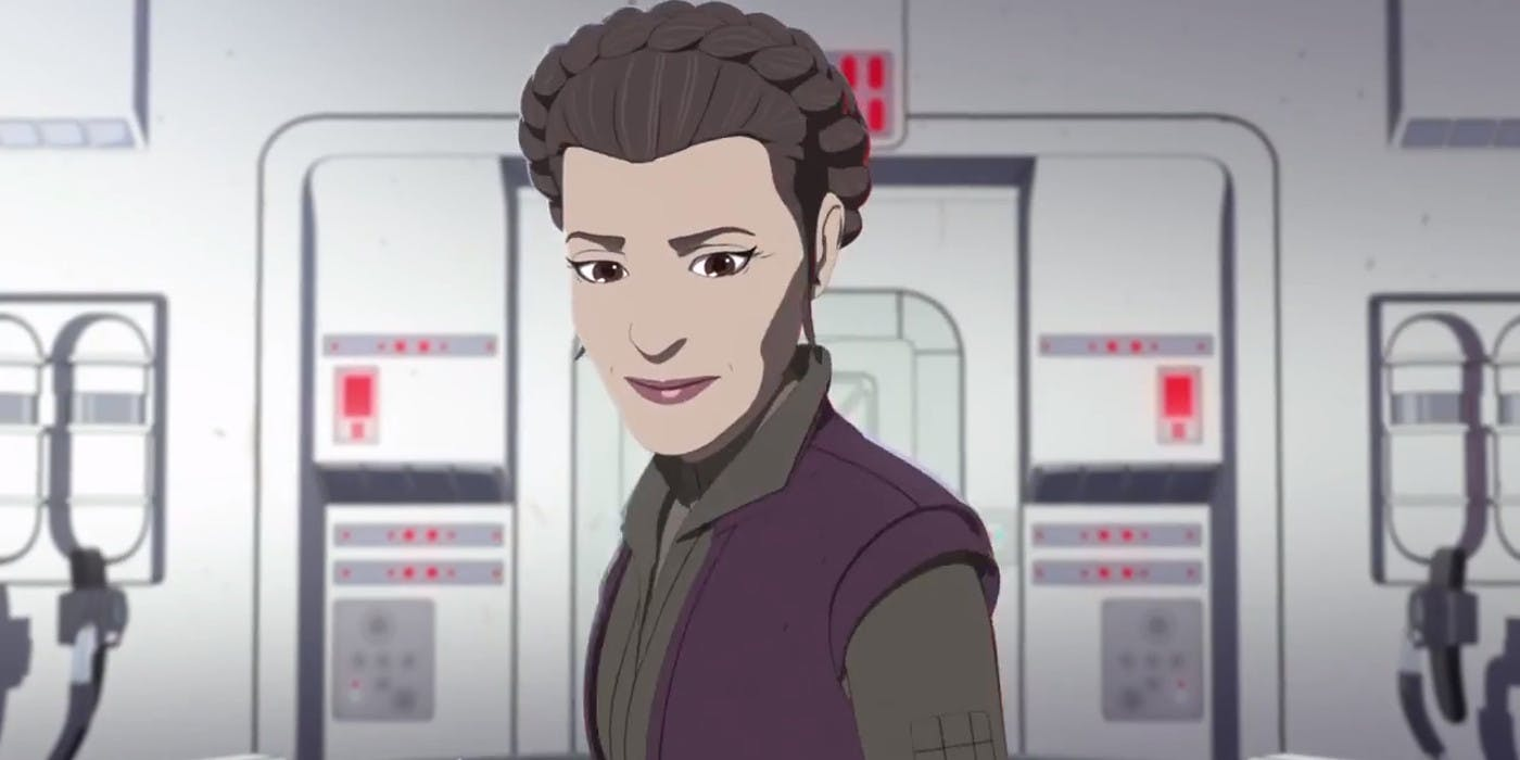 Star Wars Resistance General Leia