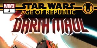 Star Wars: Age of Republic - Darth Maul 1 Cover