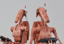 Bandai Battle Droid (Geonosis Variant) Model Kit