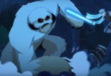 Star Wars Galaxy of Adventures - Wampa vs. Luke Skywalker