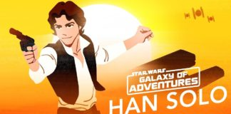 Han Solo in Star Wars Galaxy of Adventures