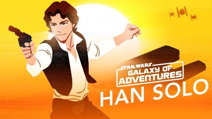Han Solo in Star Wars Galaxy of Adventures