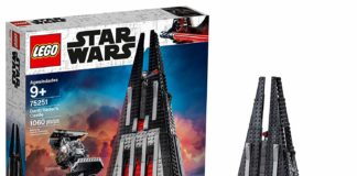 LEGO Star Wars Darth Vader's Castle 75251 Building Kit (1060 Pieces) - (Amazon Exclusive)