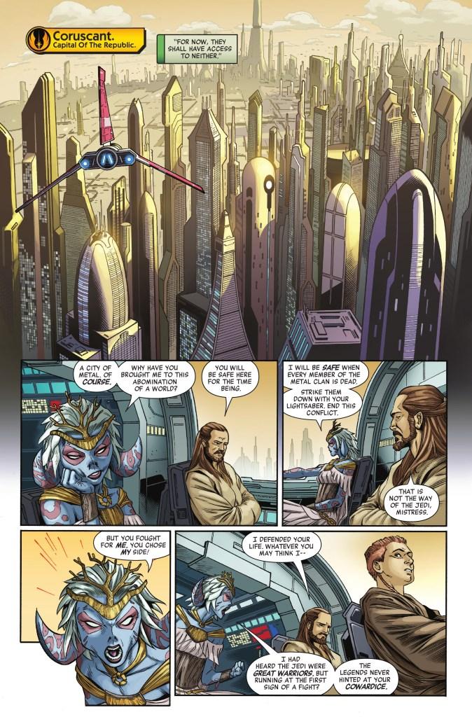 Star Wars: Age of Republic - Qui-Gon Jinn 1 Preview page 1