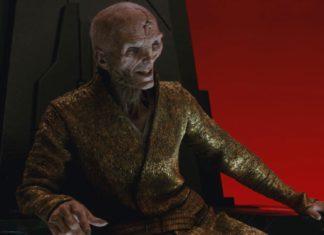 Supreme Leader Snoke (played by Andy Serkis)
