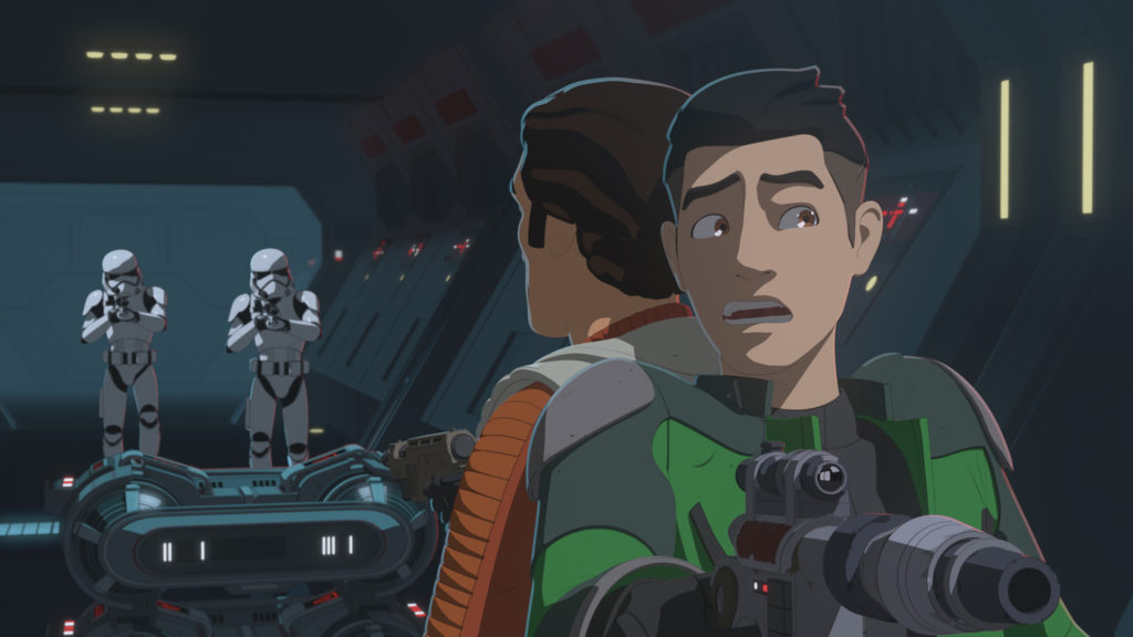 Star Wars Resistance - Station Theta-Black Preview