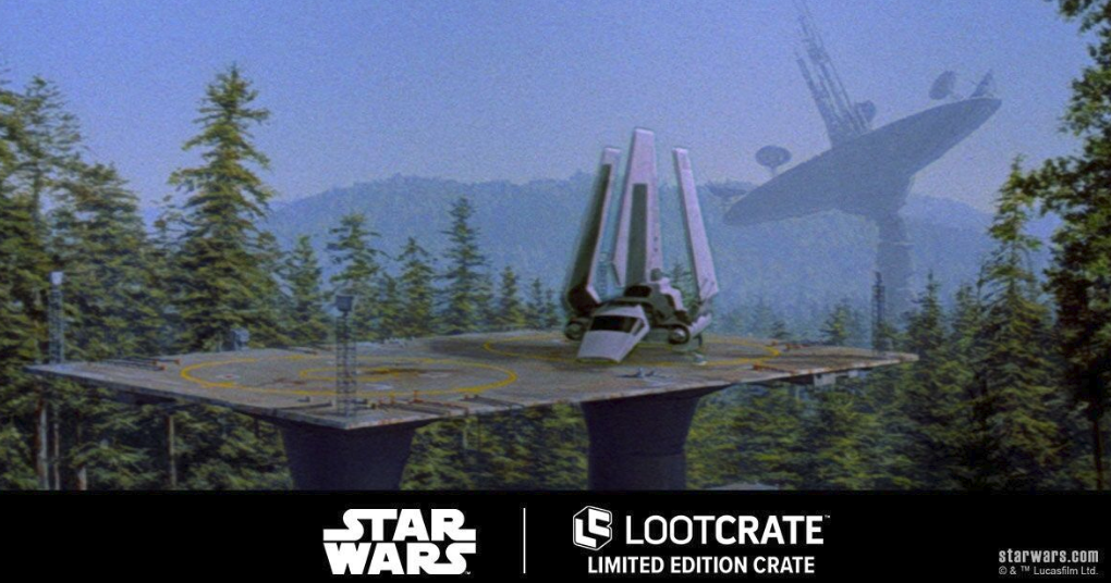 Star Wars Endor Loot Crate