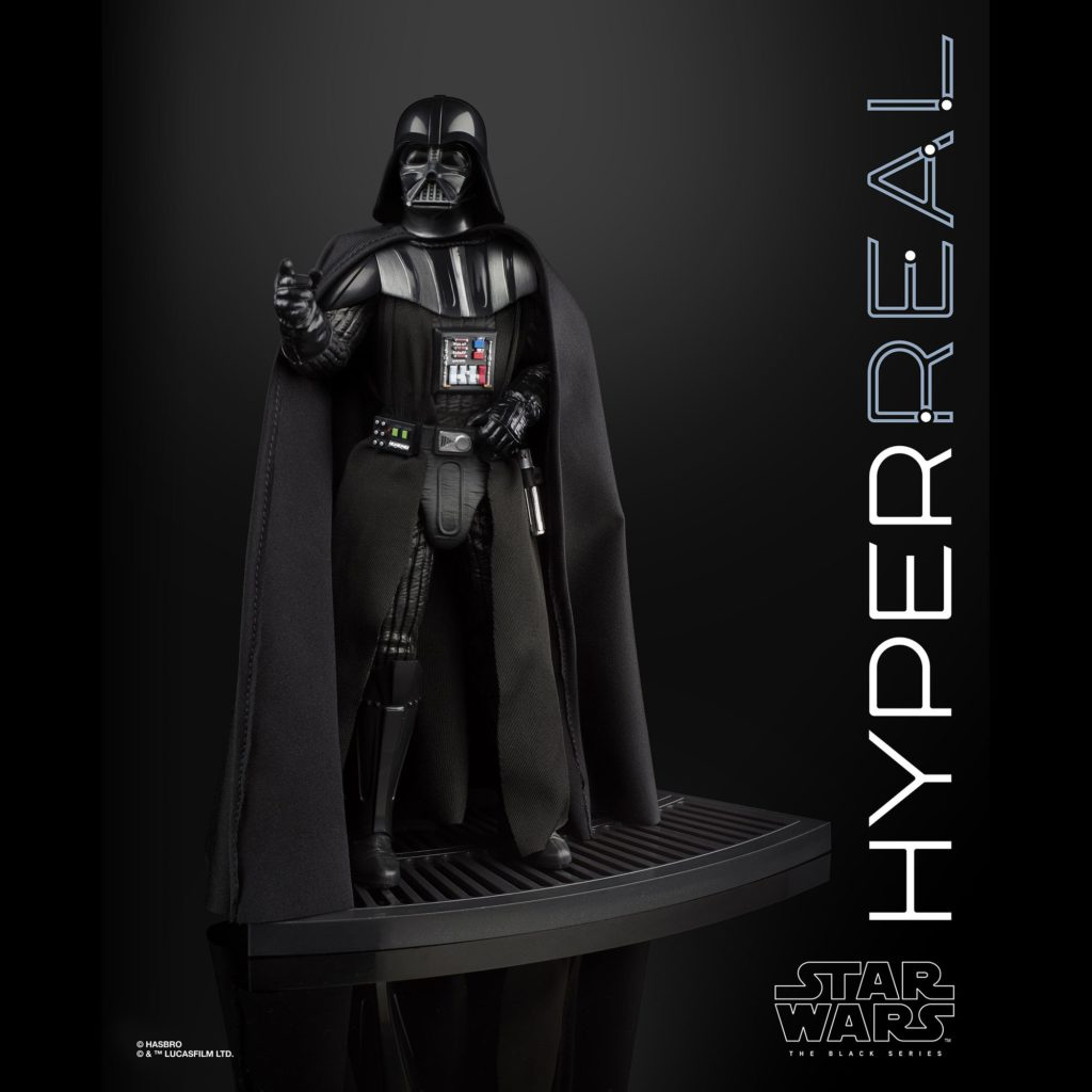 Star Wars The Black Series HyperReal 8-Inch Darth Vader