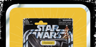 STAR WARS RETRO COLLECTION CHEWBACCA 3.75-INCH Figure