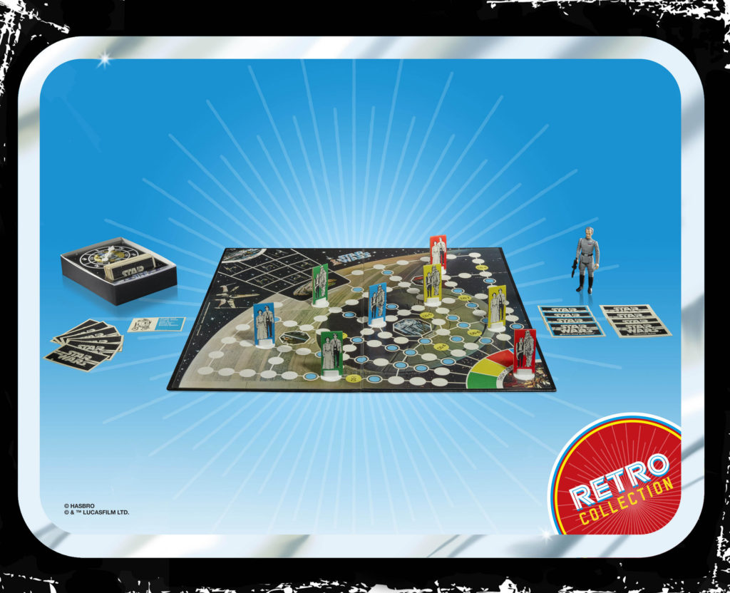 STAR WARS ESCAPE FROM DEATH STAR BOARD GAME