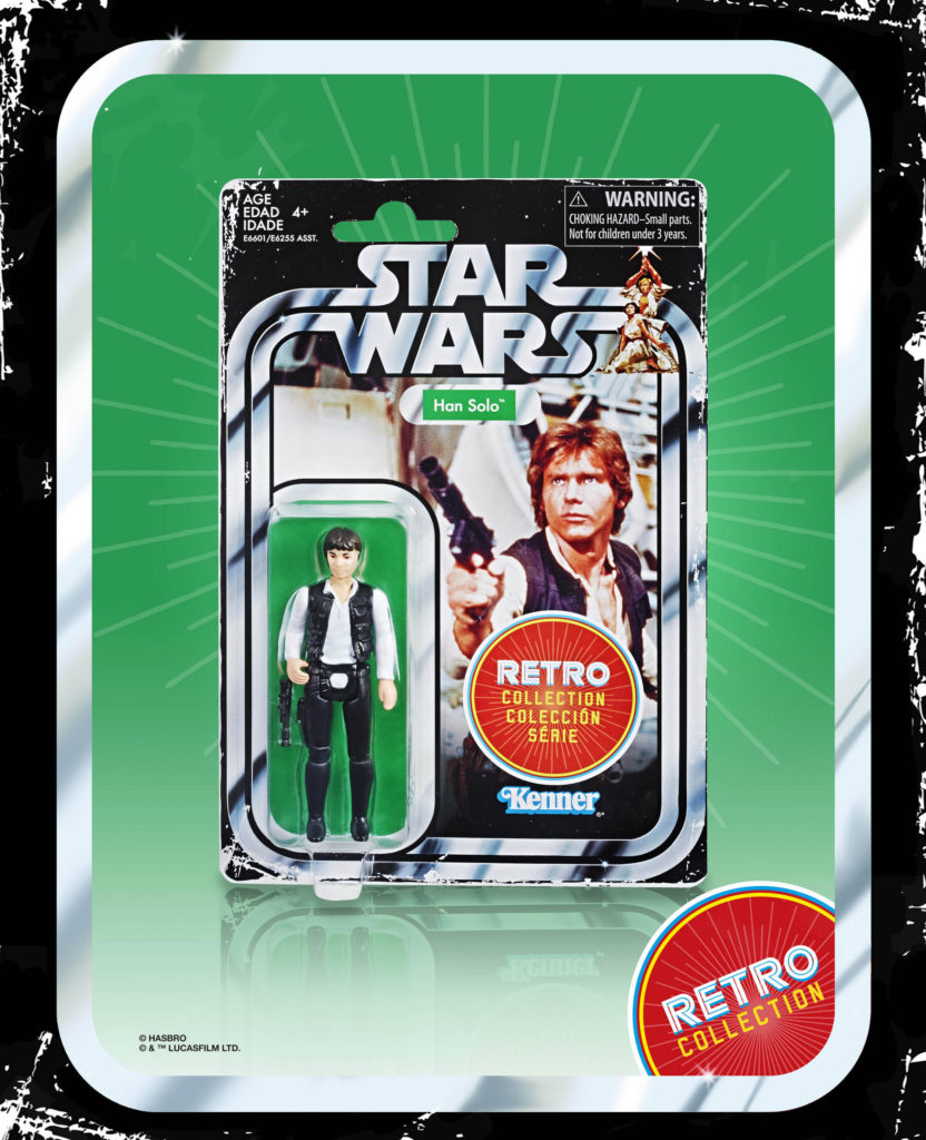 STAR WARS RETRO COLLECTION HAN SOLO 3.75-INCH Figure