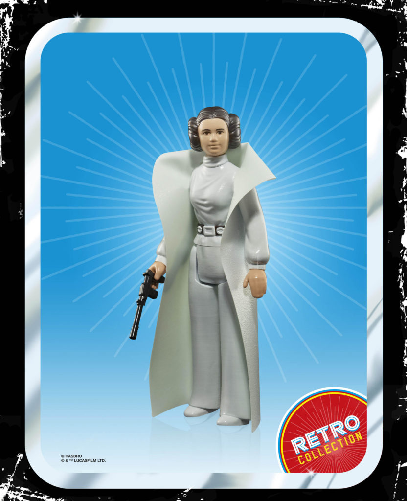 STAR WARS RETRO COLLECTION PRINCESS LEIA 3.75-INCH Figure
