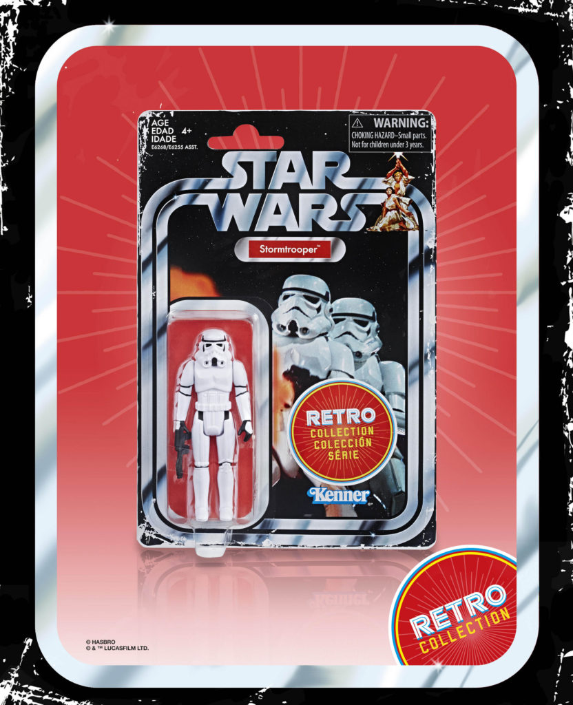 STAR WARS RETRO COLLECTION STORMTROOPER 3.75-INCH Figure