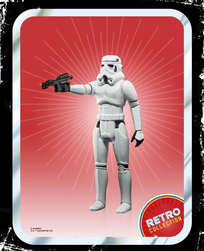 STAR WARS RETRO COLLECTION STORMTROOPER 3.75-INCH FigureSTAR WARS RETRO COLLECTION STORMTROOPER 3.75-INCH Figure