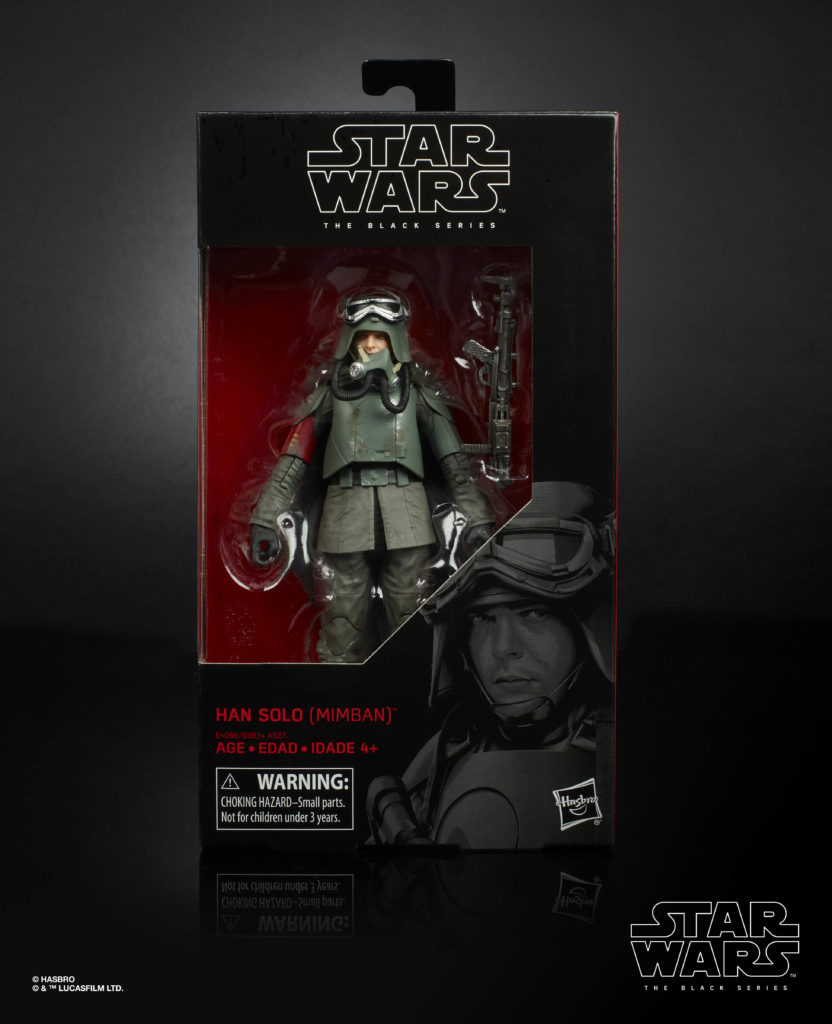 STAR WARS: THE BLACK SERIES 6-INCH HAN SOLO MIMBAN Figure