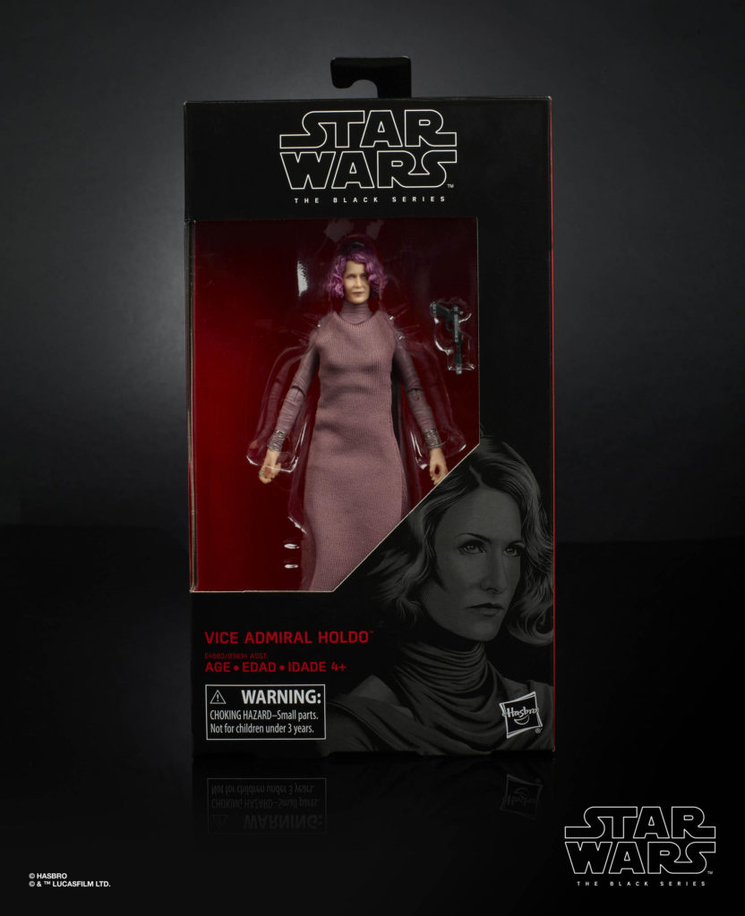 STAR WARS: THE BLACK SERIES 6-INCH VICE ADMIRAL HOLDO Figure