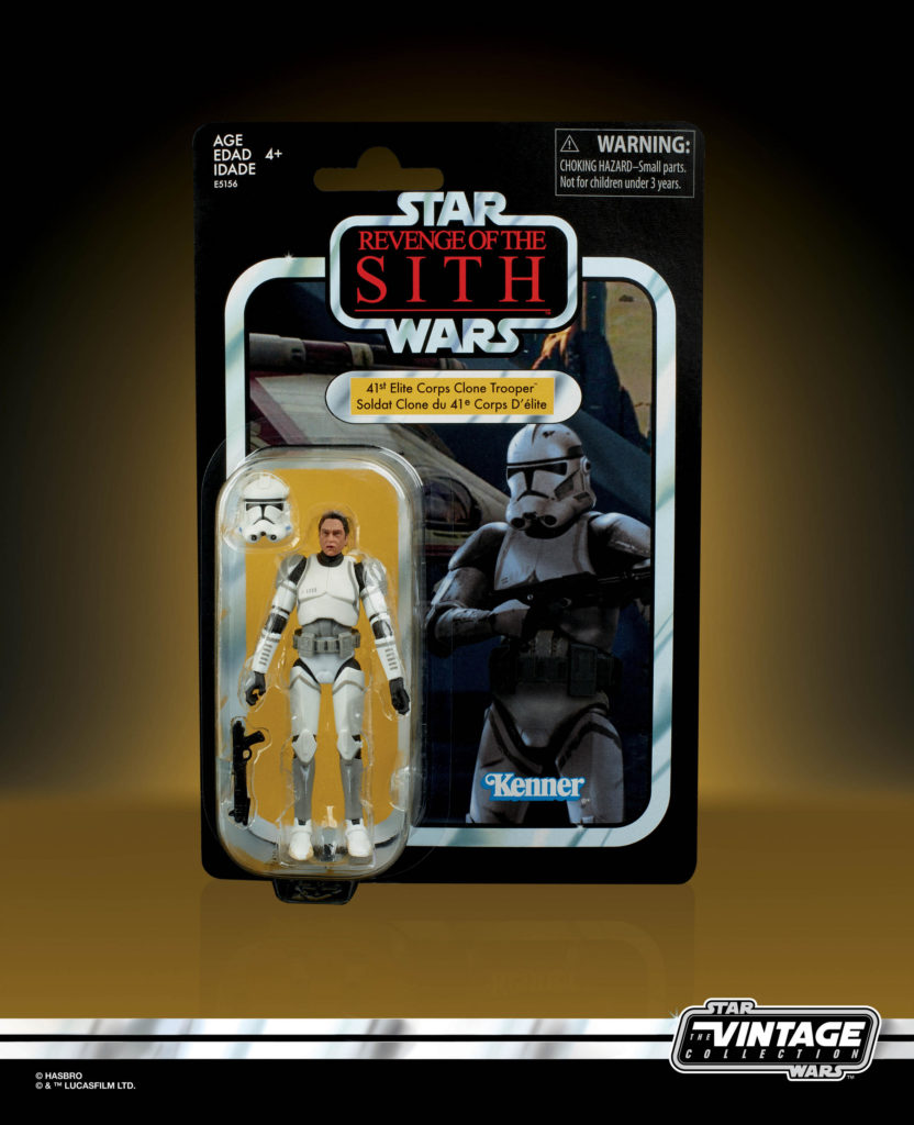 STAR WARS: THE VINTAGE COLLECTION ELITE CLONE TROOPER Figure